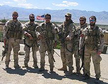 Navy SEAL Team 10 in Afghanistan prior to operation Red Wing