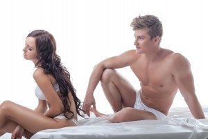 Concept of sexual problems between partners