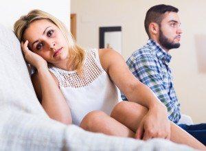 Bad quarrel between boyfriend and girlfriend