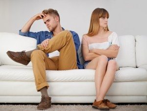 Strife and resentment in the relationship